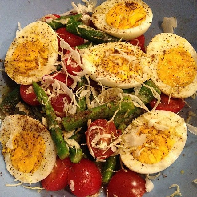 Made this healthy egg salad for dinner!