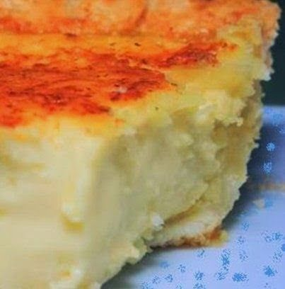 Lizzie's Coconut Custard Pie ~ This is a real old-fashioned recipe, they way custard pie should be without a lot of unnecessary ingredients.