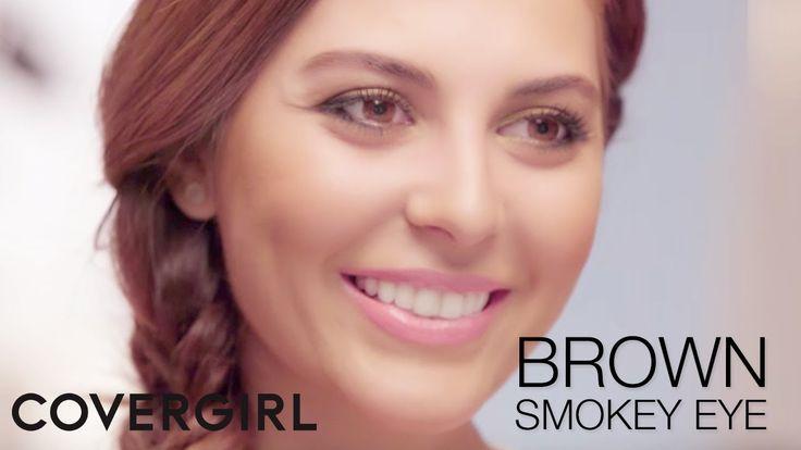Brown Smokey Eye & Flawless Skin: Makeup Tips with Sona Gasparian | COVE...