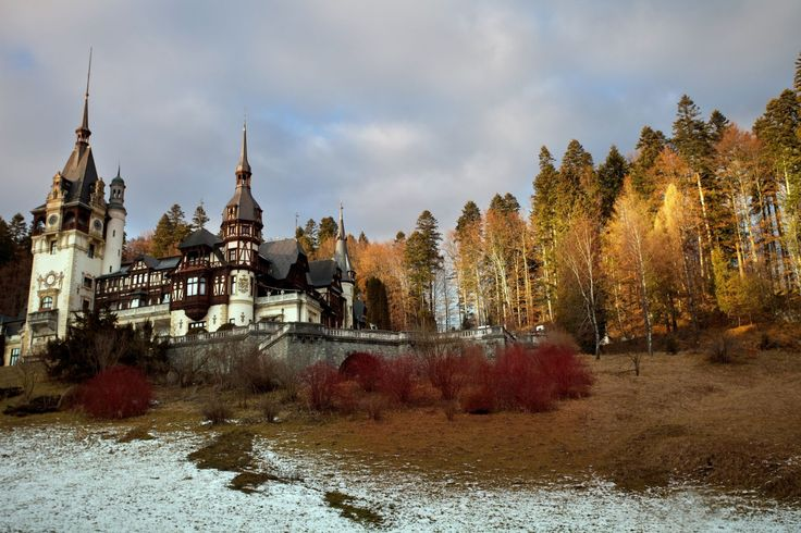 Peles Casle Sibiu / Transylvania - ROMANIA