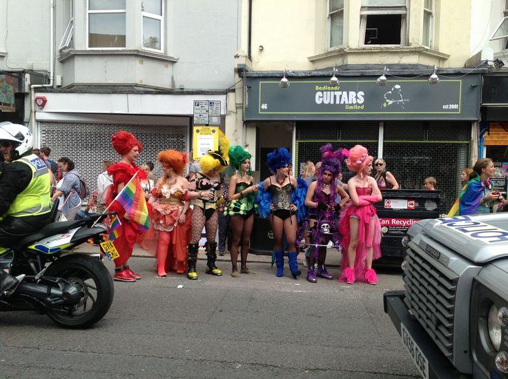 The Parade at the Brighton Gay Pride 2014