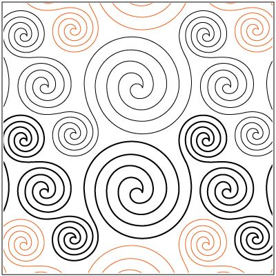 """A single row is 8"""" wide– printed with two rows – 144"""" long © Lisa H. Calle* This design is available in both paper and digital. Please select your preference below.NOTE:  All digital designs include the following conversions: CQP, DXF, HQF, IQP, MQR, PAT, QLI, SSD, TXT, WMF and 4QB or PLT. Most designs also include a DWF, GIF and PDF.This pattern was converted by Digitech."""