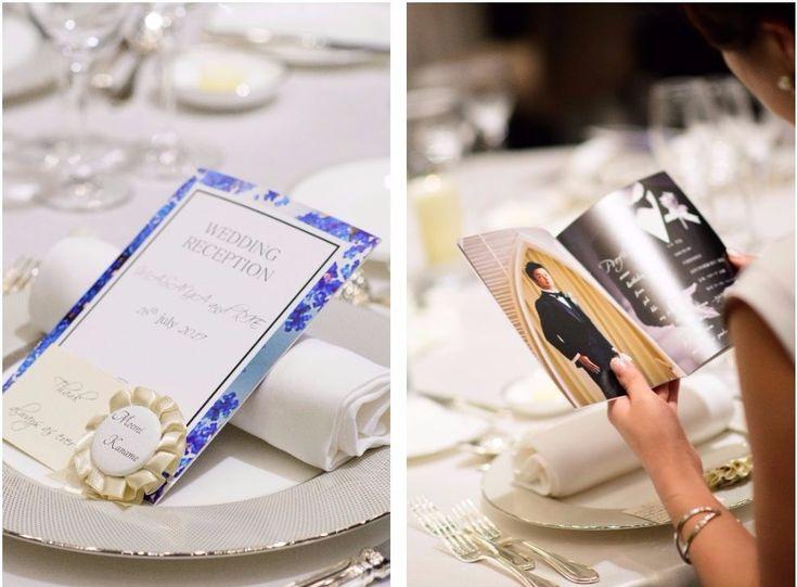 #花嫁diyotography:unison  #パレスホテル東京 #結婚式 #プロフィールブック #ロゼッタ #花嫁