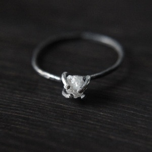 : Diamonds, Wedding, Silver Band, Jewelry, Beauty, Products, Rough Diamond Rings, Engagement Rings