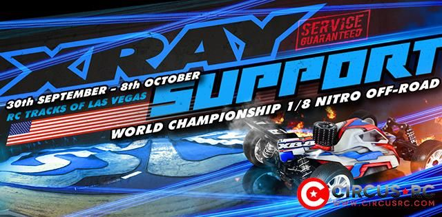 Support XRAY aux Worlds de Las Vegas