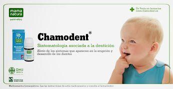 Chamodent alivio sitomatología derivada de la dentición - Mama Natura