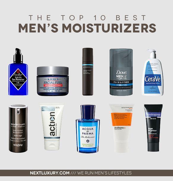 Top 10 Best Men's Moisturizers