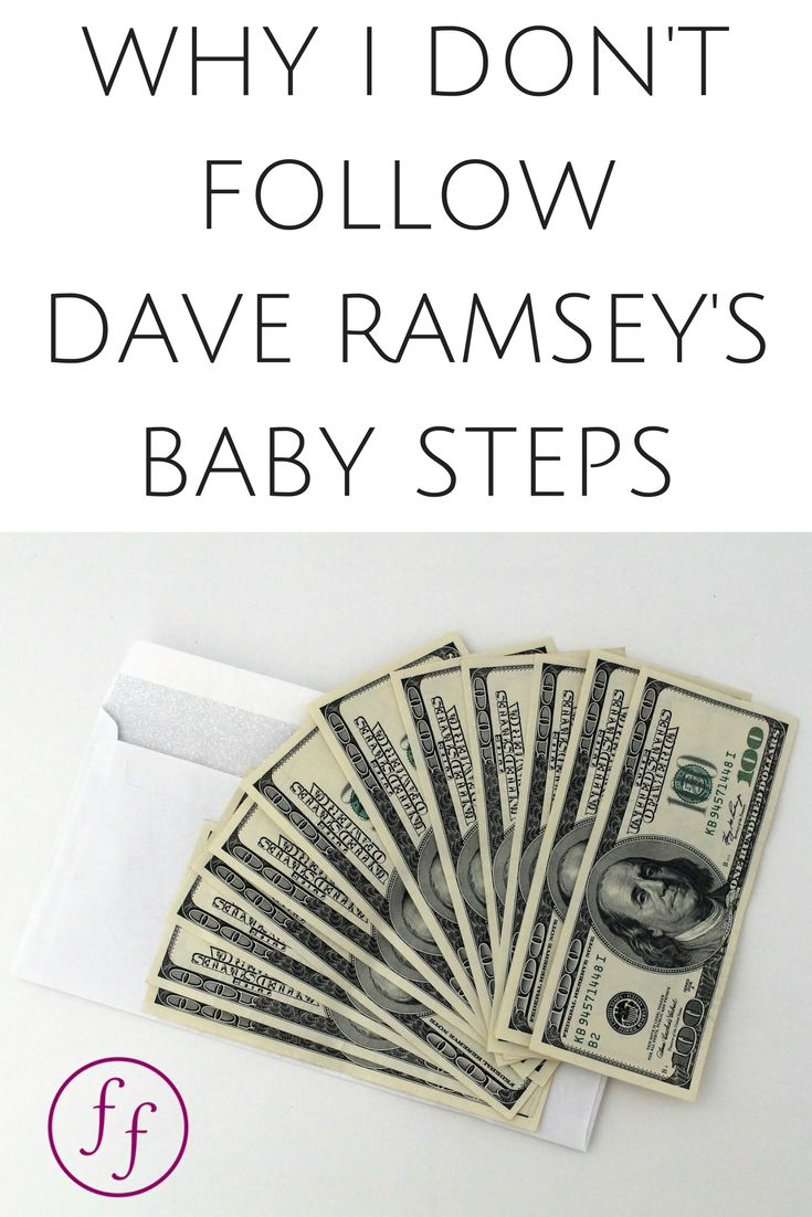 dave ramsey wallet – Why I Don't Follow Dave Ramsey's Baby Steps
