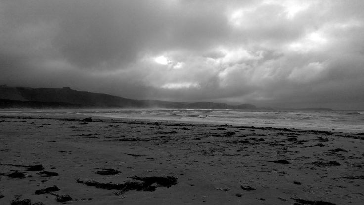 Stormy weather at Tautuku, Catlins NZ