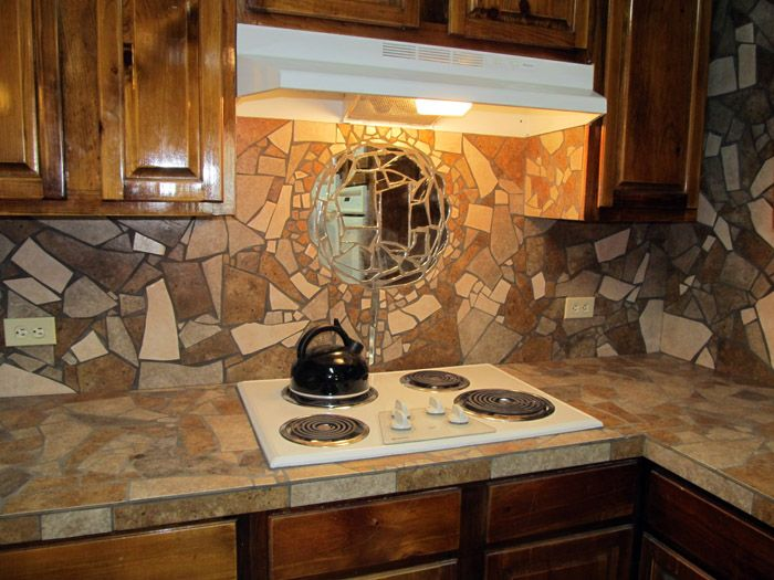 Mosaic Tile Countertop By The Phoenix Commotion