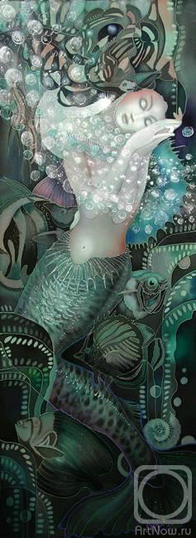Mermaid by Nadezhda Sokolova. ❣Julianne McPeters❣ no pin limits