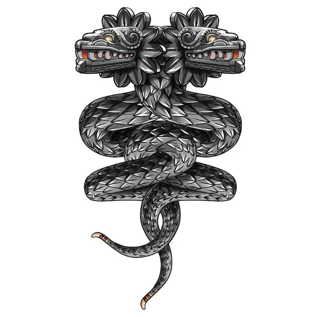 T-Shirts, Quetzalcoatl ( flying snake... | TeePublic