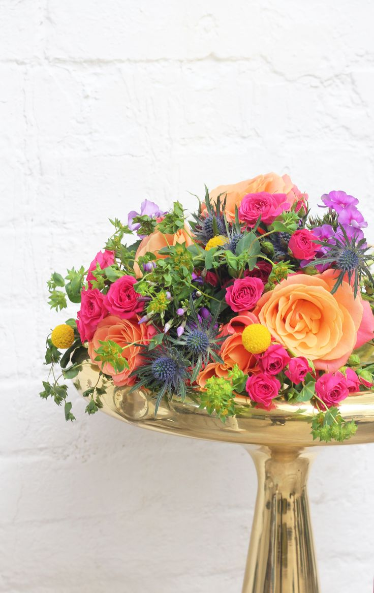 Our Refinery29 bouquet is a burst of colour to inject life and character into any room. These stylish blooms make a beautiful centrepiece. Shop the flowers at Bloom & Wild. Prices start from £20 and come through the letterbox with free next day delivery