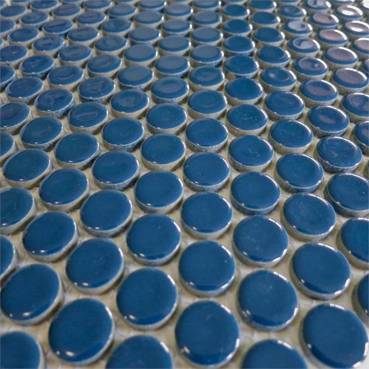 Penny Round Tile Backsplash: Best 20+ Blue Penny Tile Ideas On Pinterest