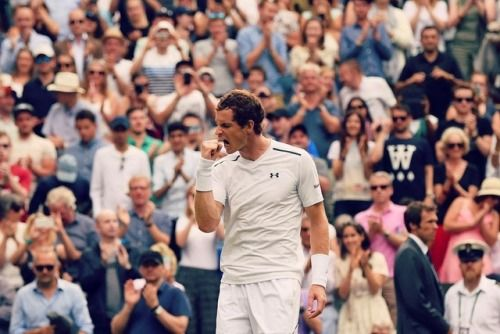 Taking on Wimbledon with Tennis Player Andy Murray  To see more...