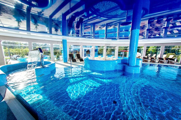 Indoor pool #spa #hotel #pool #relax #wellness