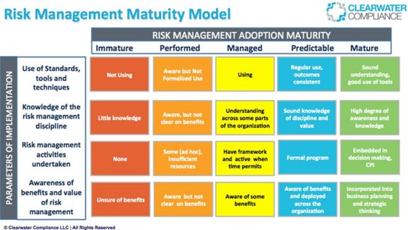 Risk Management Maturity Model