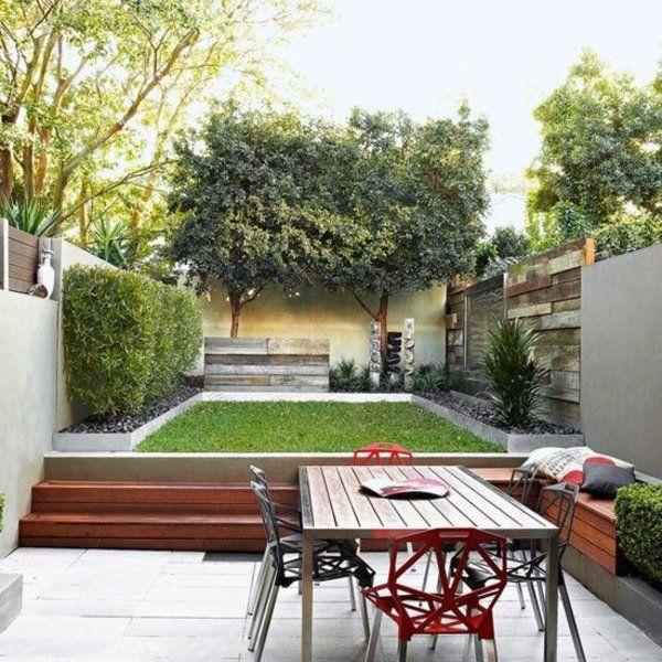 gartengestaltung kleine gärten schöne bepflanzung | Garten ...