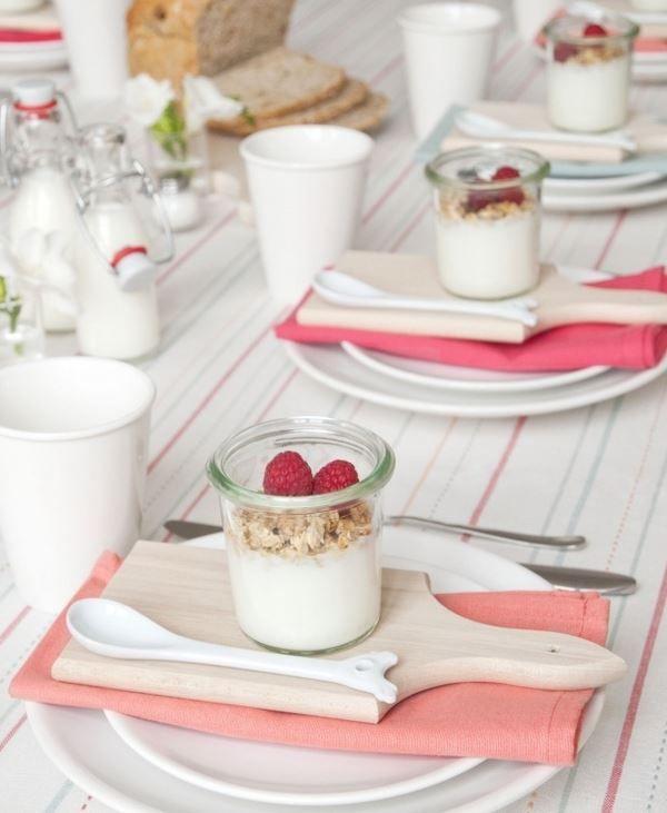 Frühling / Ostern / Pink / Frühstück