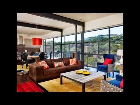 Soft & Striking Living Room by pbstudiopro.com
