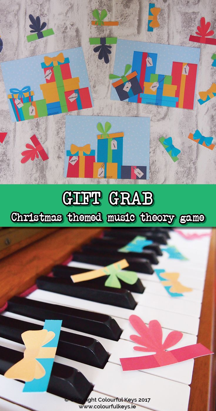 How would you like a fun, free, colourful and Christmassy game? http://colourfulkeys.ie/gift-grab-a-festive-fun-game-for-intermediate-piano-students/