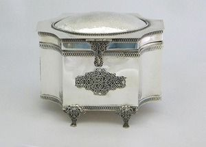 Sterling silver etrog box Unique hand made www.stubadi.com