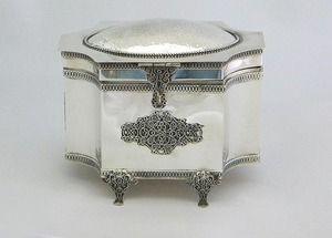 Sterling silver etrog box Unique hand made www.stubadi.com