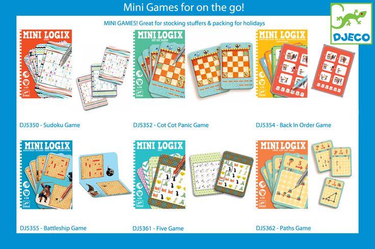 Kaleidoscope Djeco Mini Games DJ5352 DJ5350 DJ5354 DJ5355 DJ5361 DJ5362