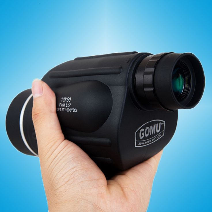 GOMU 13x50 binoculars with rangefinder waterproof telescope distance meter type monocular outdoor binoculo 114m/1000m