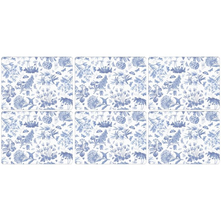 blue place mats - Google Search