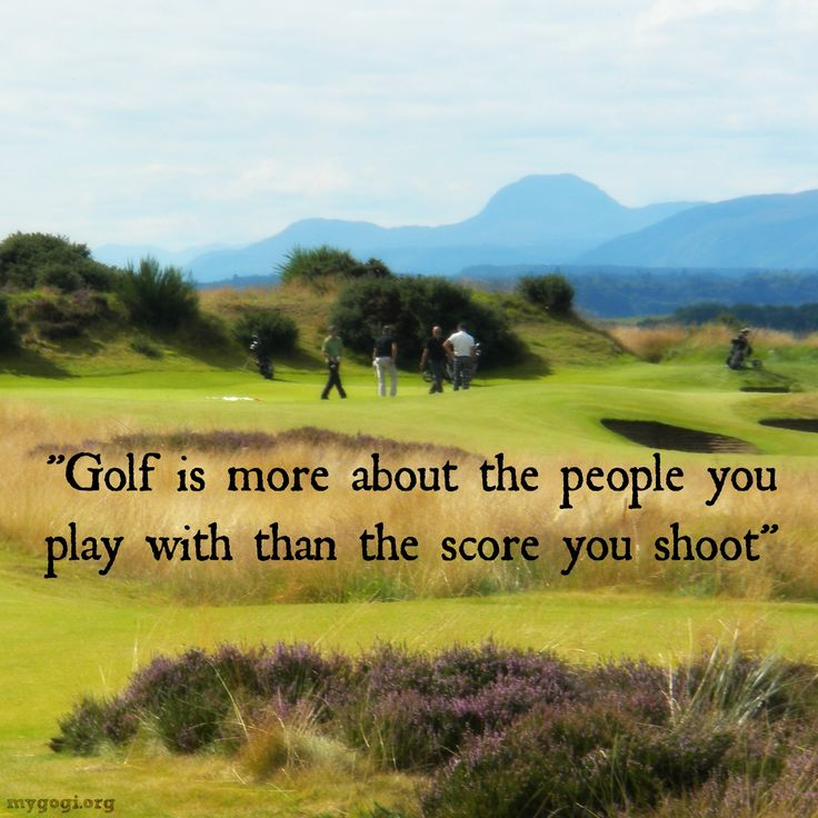 Humor Inspirational Quotes: 25+ Best Inspirational Golf Quotes On Pinterest
