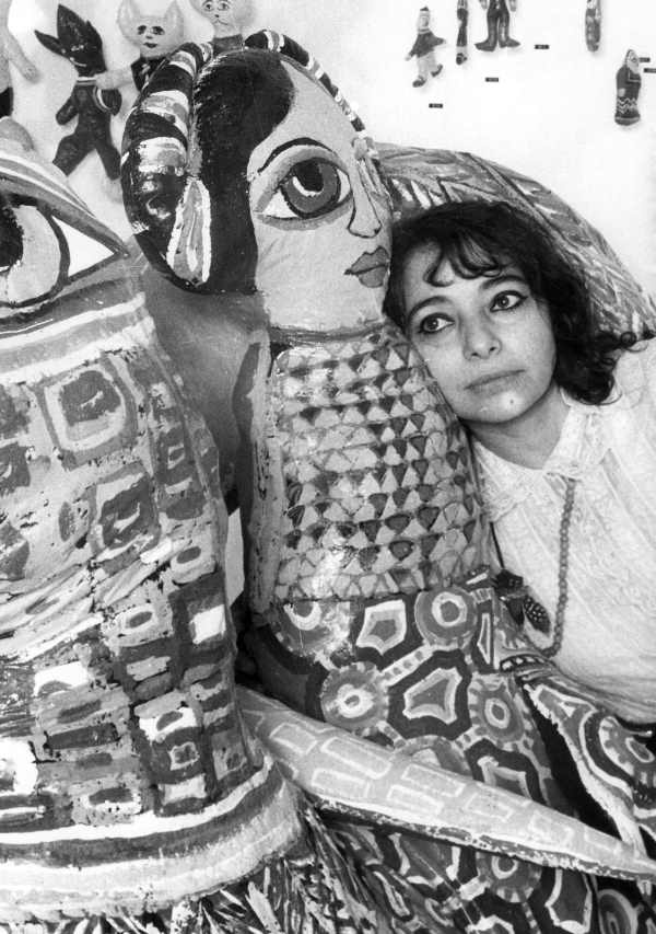 The soft sculpters that began my explorations way back in the seventies- this is Mirka Mora with her gigantic ones.