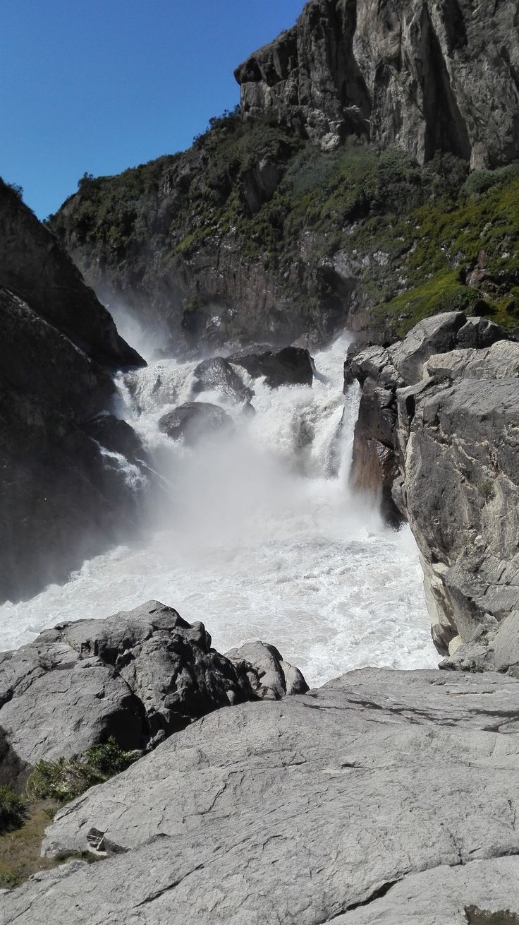Brazo de el Salto Río Ibáñez
