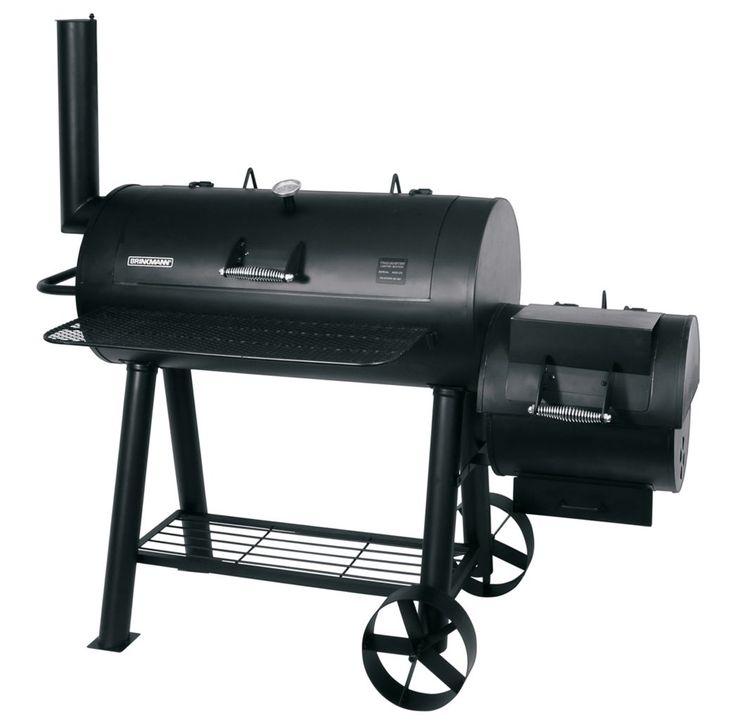 Brinkmann Trailmaster Charcoal Grill Smoke Grill Bbq