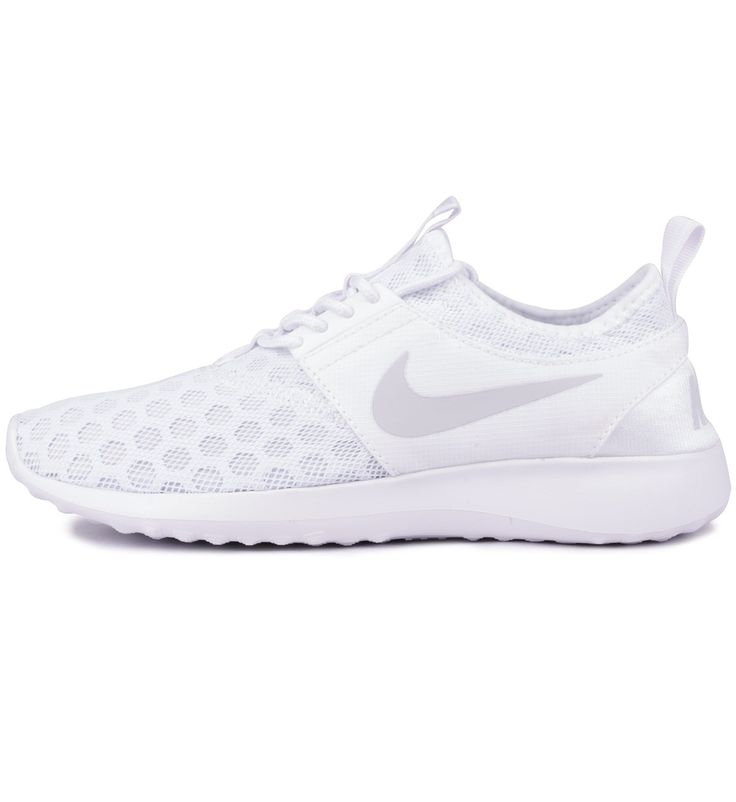 Nike WMNS Juvenate White / Pure Platinum - Nike The Nike Juvenate in white and platinum is a new design with airy mesh uppers with honeycomb foam pads and a durable but soft and bouncy midsole.