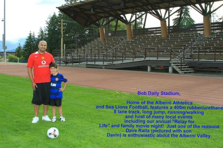 Dave Ralla @ Bob Daily Stadium!