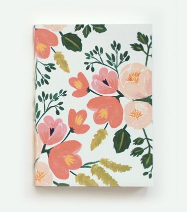 Botanical Journal - Picked up one of these to jot down wedding ideas in for the next few months or so