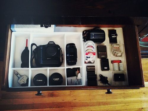 How to Make a Photography Gear Drawer — DIY Camera Equipment Storage…