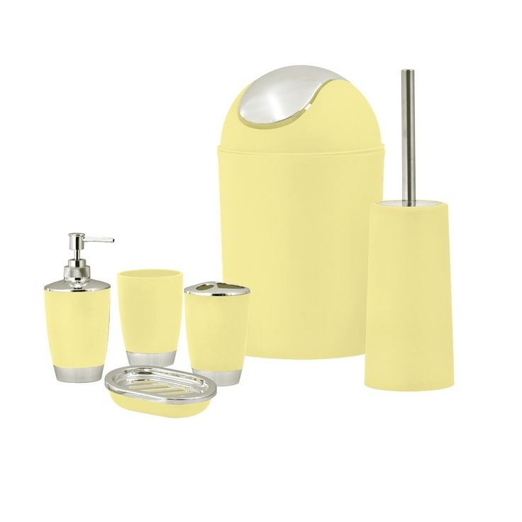 Light Yellow Bathroom Accessories die besten 25+ yellow bathroom accessories ideen auf pinterest
