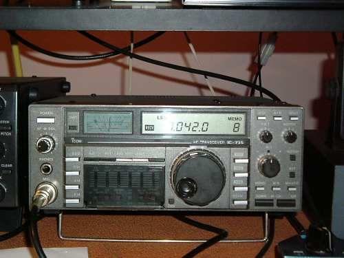 Icom Ic-735 Radioaficionado Impecable Blu No Yaesu Kenwood - $ 9.800,00