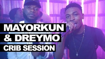 VIDEO : Mayorkun & Dremo Freestyle  Westwood Crib Session   During their recent trip to the UK DMW duo  Dremo and Mayorkun stopped over at Tim Westwoods studio for their crib session and here is the outcome.  VIDEO