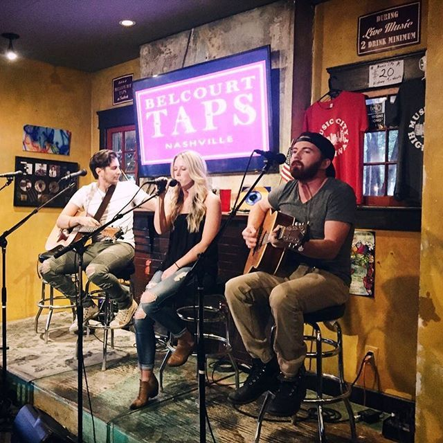 Kelsey Lamb music  It's Monday and all I can think about is getting back at it! Excited to share some new songs tomorrow night at @listeningroomcafe in a writers round with these guys! Come hang out tomorrow at 830 pm ❤️  #listeningroom #nashville #belcourttaps #singersongwriter #nashvillestyle #songwriterrounds