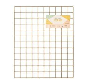 Panneau grillagé métallique 'Crate Paper - Craft + Office Storage' 61x51 cm