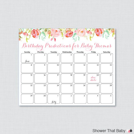 Calendar Shower Ideas : Ideas about due date calendar on pinterest