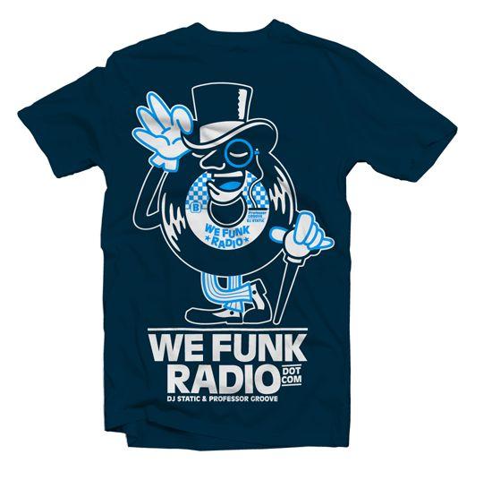 NEW TEE DESIGN FOR WE FUNK RADIO on Behance
