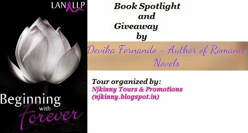#BookSpotlight #BeginningWithForever by @LanLLP on @Author_Devika's blog http://www.devikafernando.com/blog/blog-tour-beginning-with-forever-by-lan-llp Also enter #Giveaway to win $10 Amazon GC + copies of the bk! :)  #BlogTour #Romance