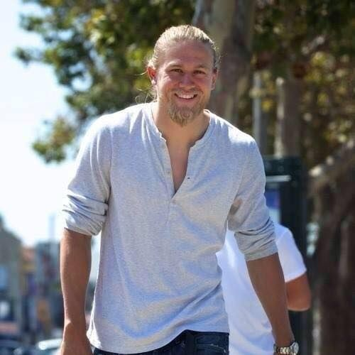 Charlie Hunnam & his beautiful smile...and that killer bod...
