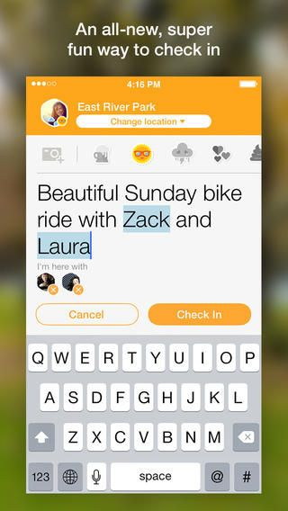 Foursquare's Swarm App is More About Social Buzz #festivals trendhunter.com
