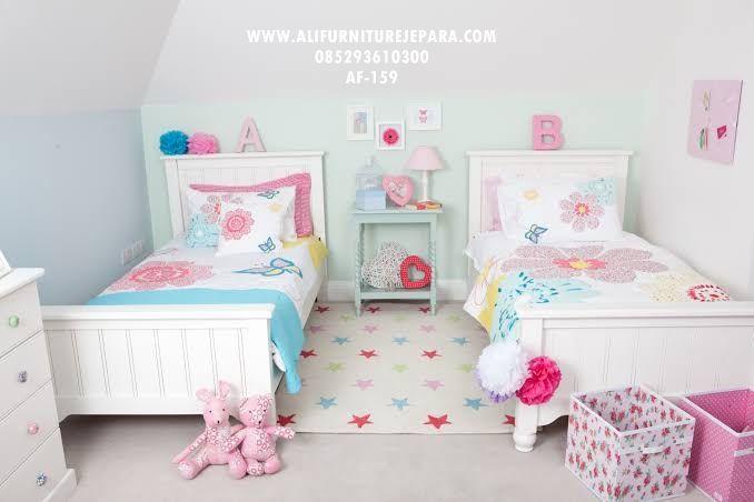 Ranjang Anak Minimalis Modern Af 159 Toddler Twin Bed Twin