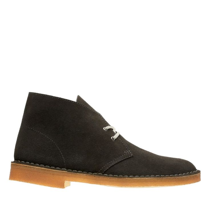 Desert Boot Dark Grey Suede mens-desert-boots
